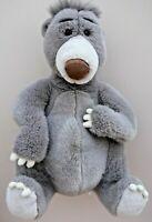 "Retired Genuine Original Disney Jungle Book's 21"" Large BALOO Bear Soft PlushToy"
