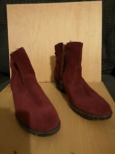 El naturalista red ankle boots size  6 / 39