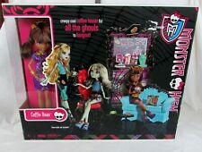 Monster High Clawdeen Wolf Doll Coffin Bean Coffee House Playset NEW SEALED