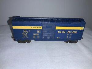 "Lionel Vintage ""The Alaska Railroad"" Boxcar -  Made in America"