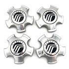 Set Of 4 Mercury Wheel Center Cap 4.5 Od Machined Oem 2005-2007 Montego 2006-20