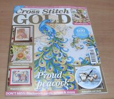 Cross Stitch Gold magazine #139 2017 Proud Peacock + Ballerina Elephant & more