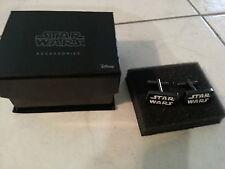 NIB Mens STAR WARS cufflinks in gift box great holiday gift cuff links!! Disney