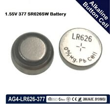 Pila orologi batteria tipo bottone 377 SR626SW LR 626 AG4 silver oxide cell 1,5V