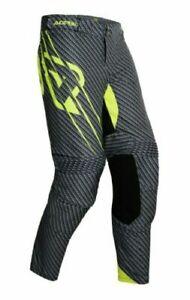 ACERBIS Adult Pant Motocross Enduro Carbon Fluo KX CRF KTM SX RMZ YZF
