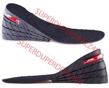 3 pollici unisex cuscino d'aria altezza crescente solette per Scarpe coppia più alti tacco ascensori