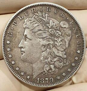 USA MORGAN DOLLAR 1879 90% SILVER COIN