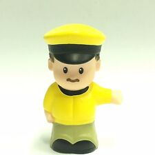 Fisher-Price Little People Taxi Driver Figure Toy Ea46