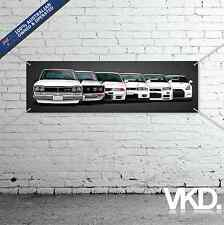 GTR Banner - For Man Cave Work Shop Garage Shed Flag JDM NISMO R32 R33 R34 R35