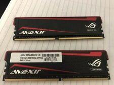 Two Avexir Impact 8GB DDR4 2666 Desktop Memory Module AVD4UZ126661504G-2IPROG