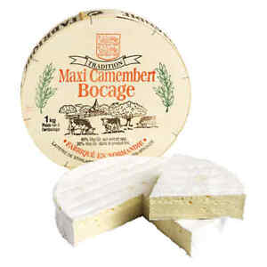 Camembert Unpasteurised 'Maxi Bocage' 1kg