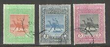 Sudan 1954 SG 140-2 Self Government Set of 3 with CDS VF Used