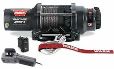 Warn 89041 Vantage 4000-s Winch 4000lb pull w/ 50ft Synthetic Cable - ATVs & UTV