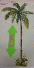 TROPICAL PALM TREE Scene Setter LUAU party backdrop 7.5' high beach Hawaii decor