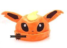 Pokemon Flareon Sombrero Cosplay Hat Chapeau Hut Pyroli Peluche Flamara Eevee XY