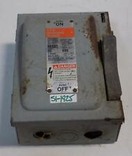I-T-E 30A 600VAC TYPE 1 ENCLOSED SWITCH NF351