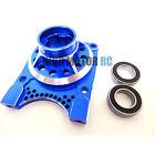 King Motor X2 CNC Aluminum Vented Clutch Housing (blue) Fit LOSI 5IVE T Rovan LT