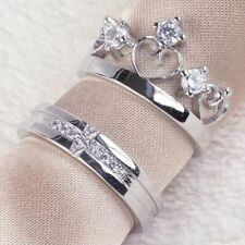 Princess Silver Plated Band Costume Rings