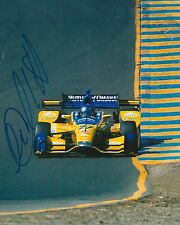 Marco Andretti signed 8x10 photo Irl Indy with Coa D