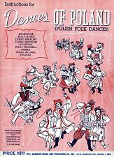 Dances of Poland- Dance instructions with music and stories. Sajewski Music 1953