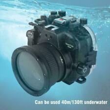 40M/130ft Underwater Waterproof Housing Case for Fujifilm Fuji X-T3 Camera Lens