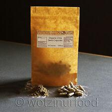 ORGANIC Chia Seeds Capsules 50 x 1000mg