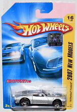 Hot Wheels 2007 New Models '70 Pontiac Firebird #16/36 Silver Factory Sealed