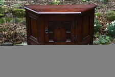 Oak Art Deco Original 20th Century Antique Cabinets