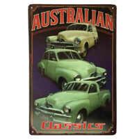 Holden FJ Australian Classic Cars Portrait Sign Ute Sedan & Van 30cmx20cm - New