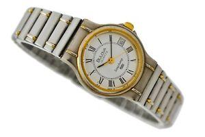 Vintage Bulova Longchamp Quartz Stainless Steel Ladies Watch 2026