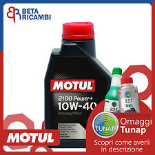 Olio motore Motul 2100 10W40 Power+ Mercedes Smart VW Volkswagen Toyota