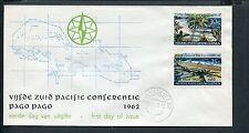 Ned.Nieuw Guinea, FDC E10 - E 10, Z-Pacific Conf., b/o, ds Manokwari 4
