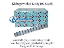 6Kg Klebegewichte Auswuchtgewichte 12x5g 100 Stück á 60g Kleberiegel versiegelt