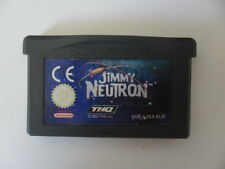 JIMMY NEUTRON - Un Garçon Génial - NINTENDO GAME BOY ADVANCE