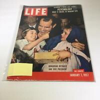 Life Magazine: Jan 7 1957 Hungarian Refugees & Vice President Richard Nixon