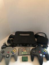 Nintendo 64 PAL Console GOOD CONDITION w/ 2 controllers, memory & Super Mario 64