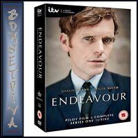 ENDEAVOUR - COMPLETE SERIES 1 2 3 4 & 5  PLUS PILOT FILM  **BRAND NEW DVD BOXSET