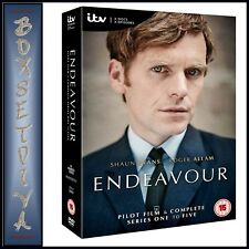 ENDEAVOUR - COMPLETE SERIES 1 2 3 4 & 5  PLUS PILOT FILM  **BRAND NEW DVD BOXSET