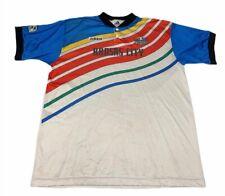 Kansas City Wizards Adidas Mens 1/4 Button Shirt White Blue MLS Soccer Jersey XL