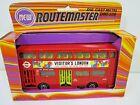 VINTAGE ZYLMEX ROUTEMASTER DIECAST LONDON TRANSPORT BUS DMS 588 HONG KONG
