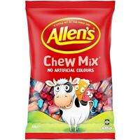 830g ALLENS CHEW MIX MILKO SHERBIES REDSKIN BULK LOLLIES CANDY BUFFET PARTY