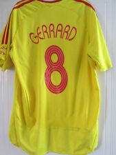 Liverpool 2006-2007 Away Football Shirt Size Large CL Gerrard  /38095