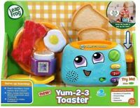 LeapFrog Yum-2-3 Toaster, Learning Toy with Sounds and Colours for Multicolor