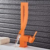 Aqualine Inspirations By Eljer NA8100 Bathroom Faucet Single Acrylic Handle New