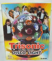 "Lighted 6"" Color Rotating Party Ball Lamp Spinning Disco Dance Light Decoration"