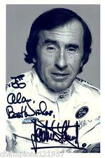 Jacky Stewart ++Autogramm++Formel 1 Weltmeister++