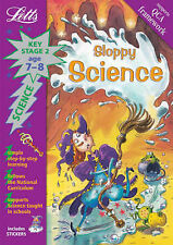 LETTS imparare Sloppy SCIENZA Key STAGE 2 età 7-8 Attività Sticker Libro Nuovo