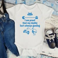 """/""""I am not crying I am ordering dinner/"""" Babygrow Baby Shower Baby Gift"""
