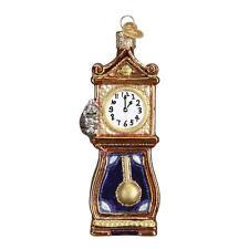 HICKORY DICKORY DOCK CLOCK NURSERY RHYME OLD WORLD CHRISTMAS ORNAMENT NWT 32230