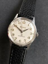 1950s Vintage Bulova Cal. 11AFC Steel Case Mid Size Mens Watch